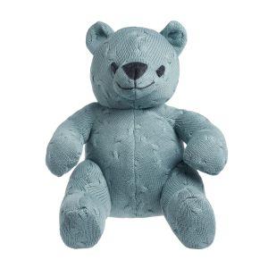 Stuffed bear Cable stonegreen - 35 cm