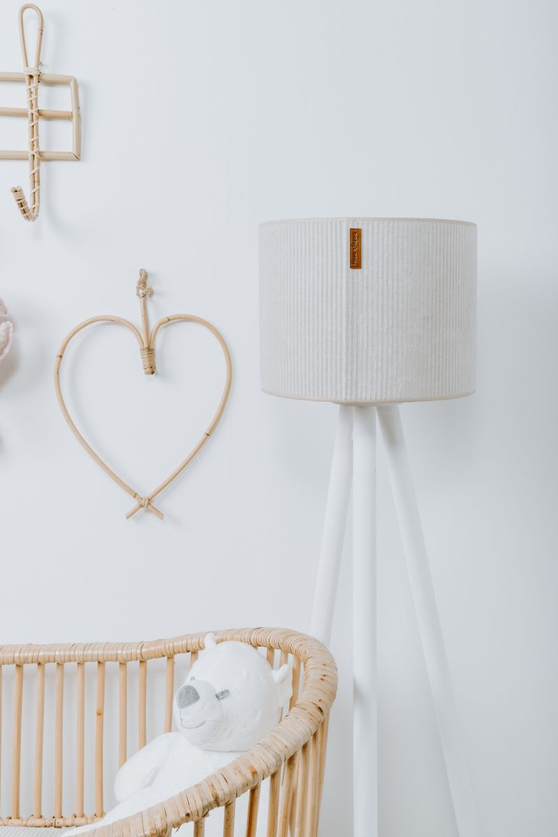 stuffed bear cable white 35 cm