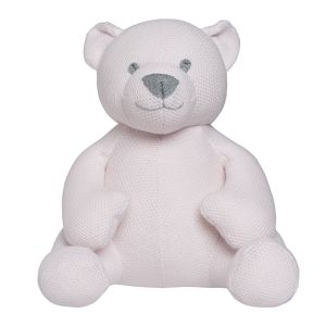 Stuffed bear Classic pink