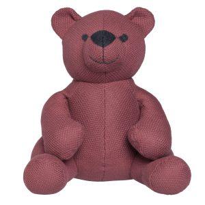 Stuffed bear Classic stone red