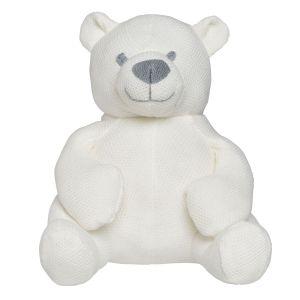 Stuffed bear Classic woolwhite
