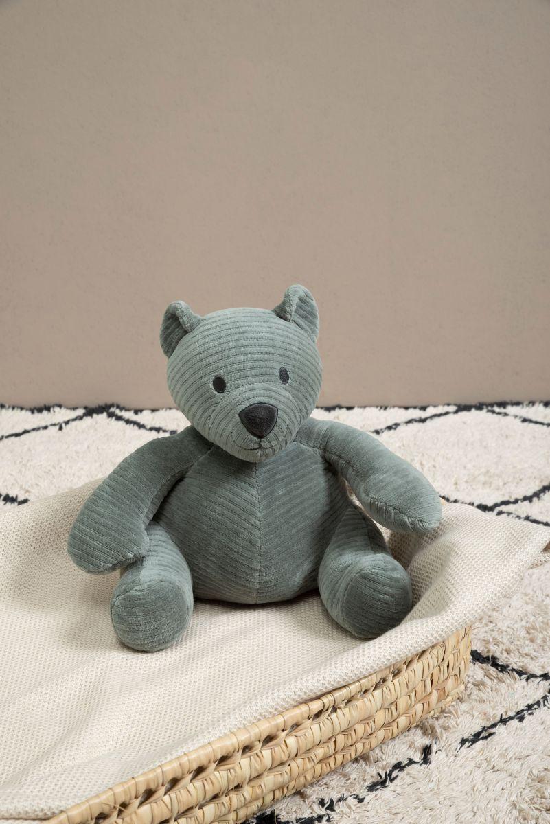 stuffed bear sense sea green