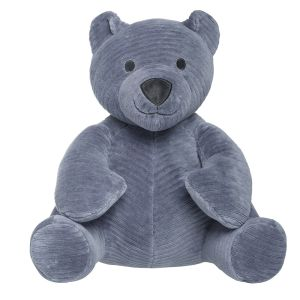 Stuffed Bear Sense vintage blue