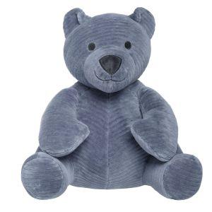 Stuffed Bear Sense vintage blue
