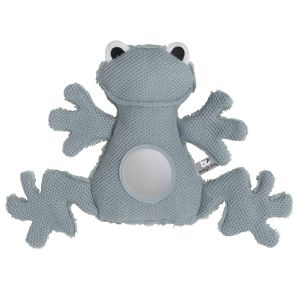 Stuffed Frog stonegreen