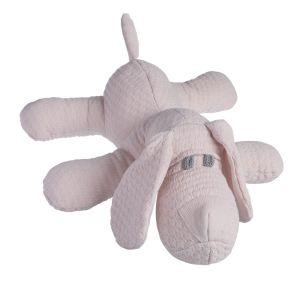 Stuffed puppy Cloud classic pink