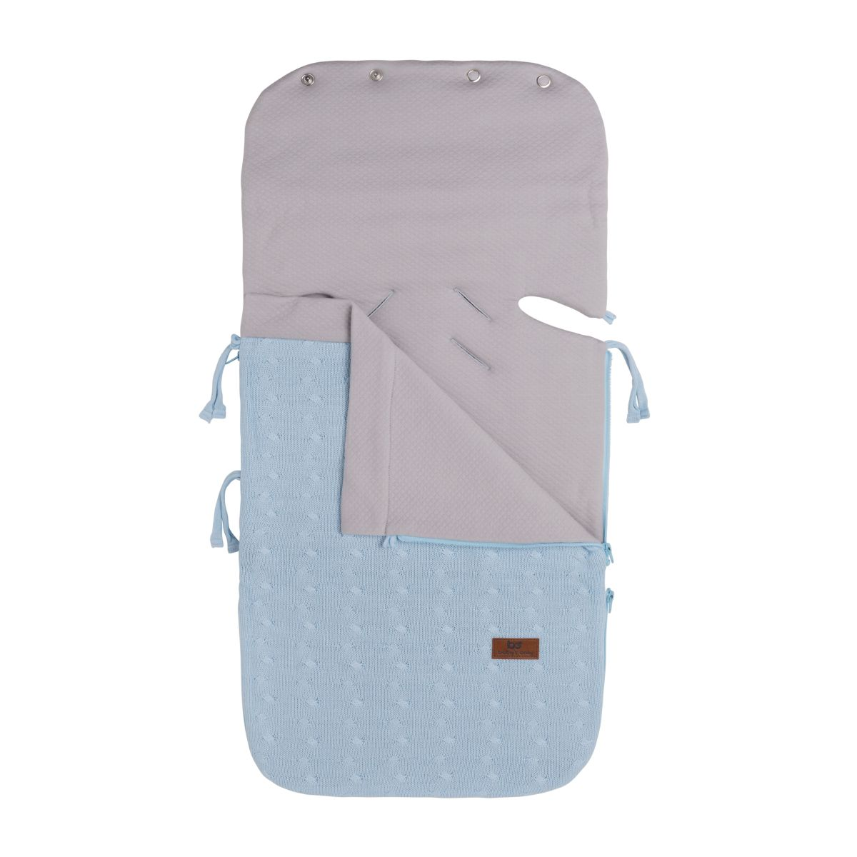 summer footmuff car seat 0 cable baby blue