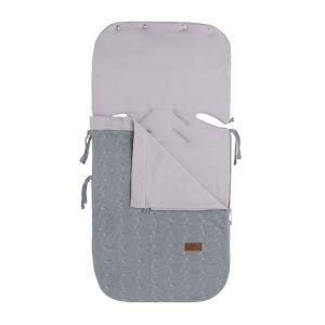 Summer footmuff car seat 0+ Cable grey