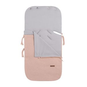 Summer footmuff car seat 0+ Classic blush