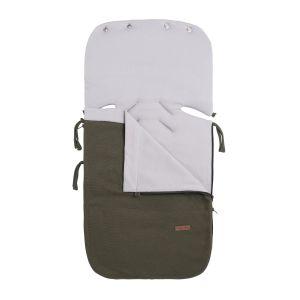 Summer footmuff car seat 0+ Classic khaki