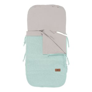 Summer footmuff car seat 0+ Classic mint