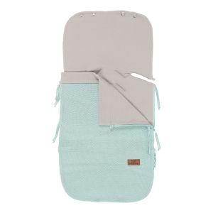 Summer footmuff car seat 0+ Classic mint