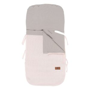 Summer footmuff car seat 0+ Classic pink