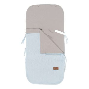 Summer footmuff car seat 0+ Classic powder blue