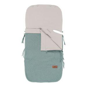 Summer footmuff car seat 0+ Classic stonegreen