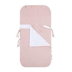 Summer footmuff car seat 0+ Reef misty pink