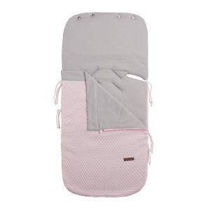 Summer footmuff car seat 0+ Sun classic pink/baby pink