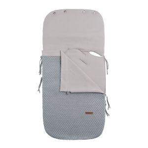 Summer footmuff car seat 0+ Sun grey/silver-grey