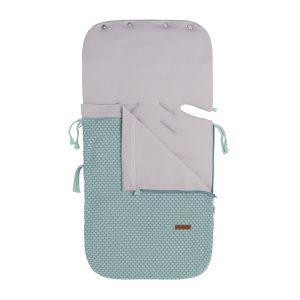 Summer footmuff car seat 0+ Sun mint/stonegreen