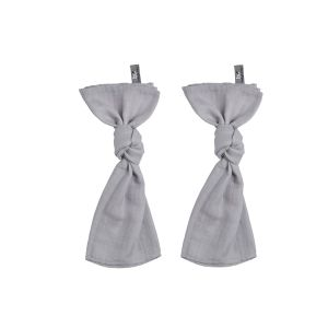 Swaddle silver-grey - 65x65 - 2-pack