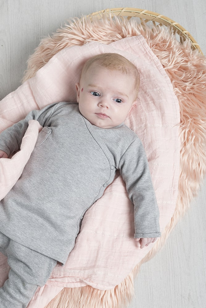 swaddle sparkling classic pink 100x120