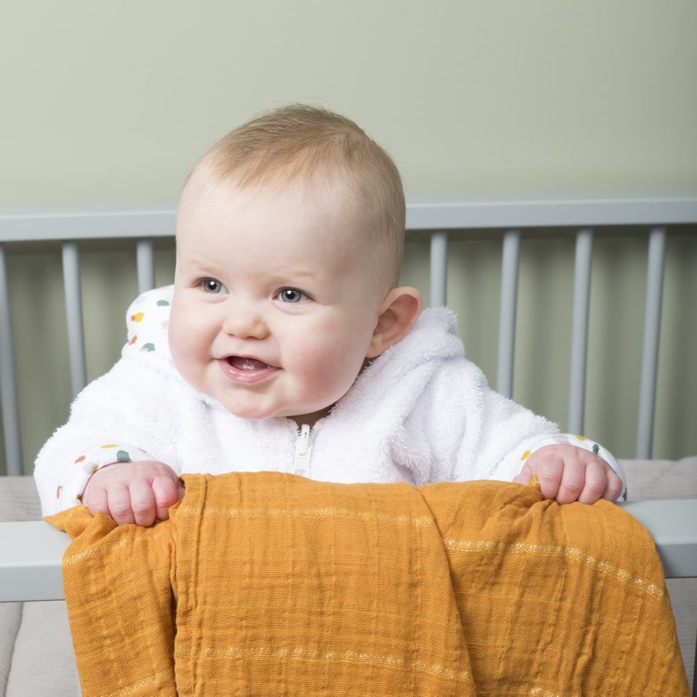 swaddle sparkling ochre 65x65 2pack