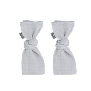 Swaddle Sparkling silver-grey - 65x65 - 2-pack