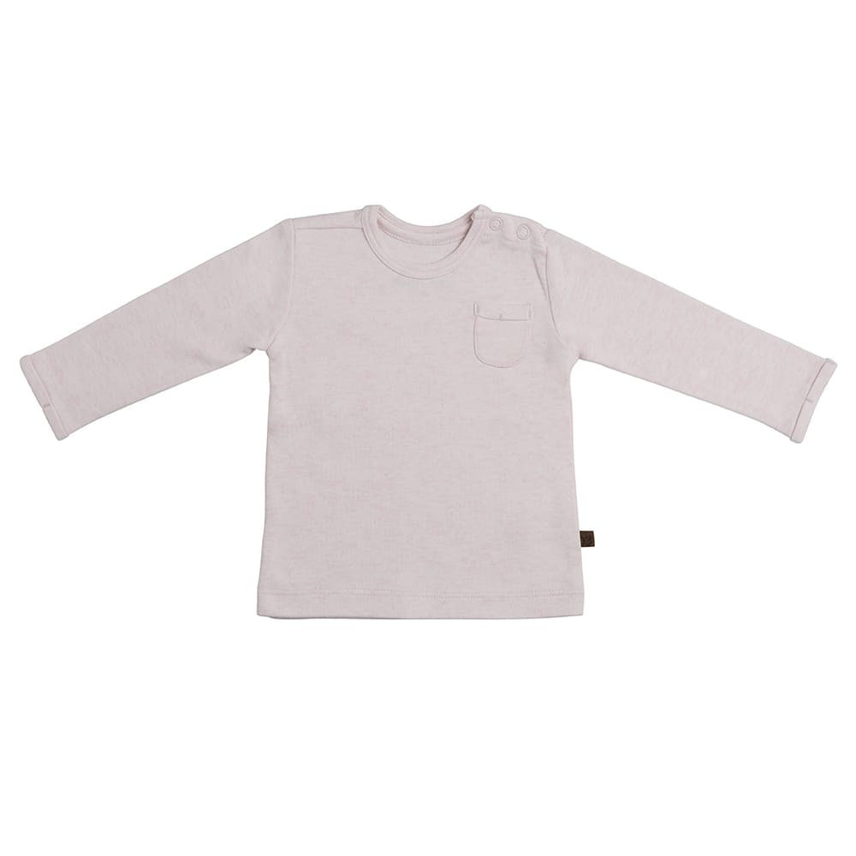 sweater melange classic pink 68
