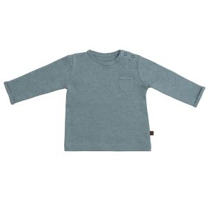 Sweater Melange stonegreen - 62