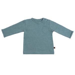 Sweater Melange stonegreen - 68