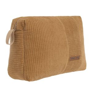 Toiletry bag Sense caramel