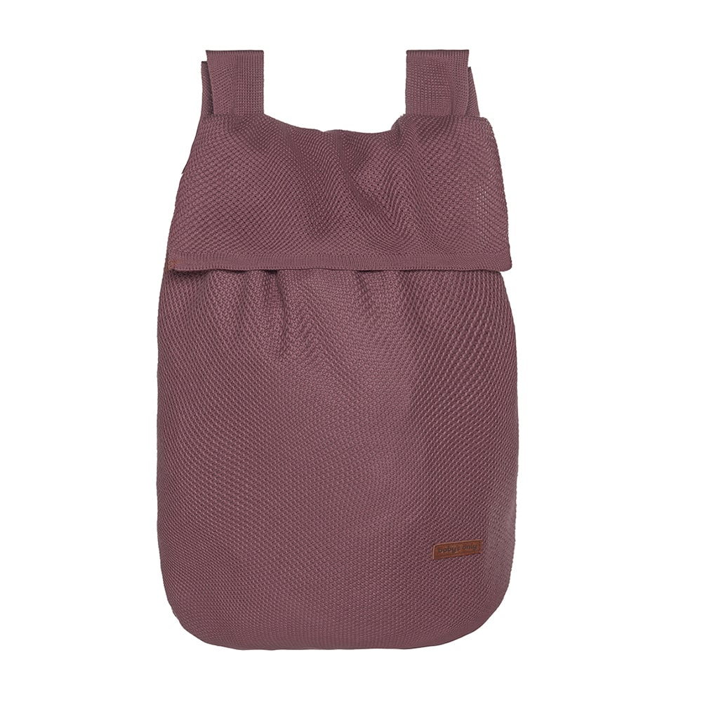 toy bag classic stone red