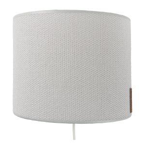 Wall lamp Classic silver-grey - 20 cm