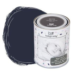 Wall paint dark blue - 1 liter