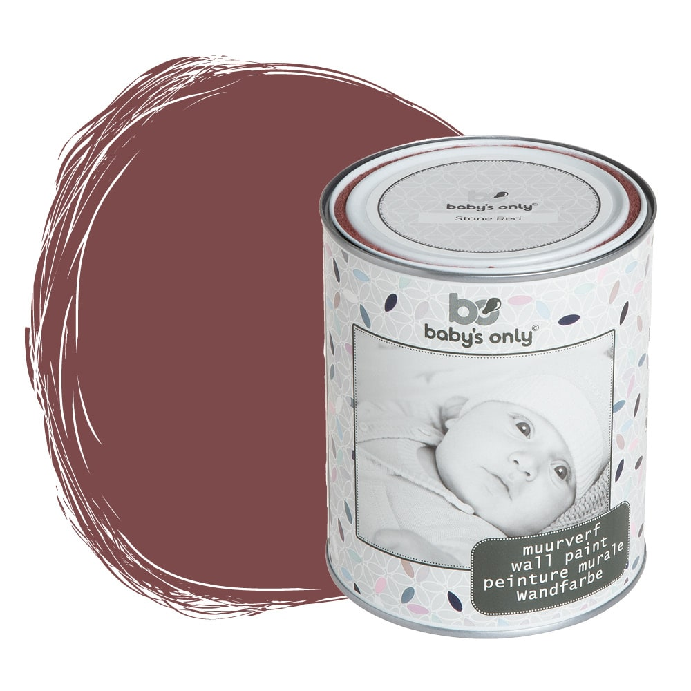 wall paint stone red 1 liter