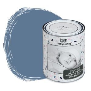 Wall paint vintage blue - 1 liter