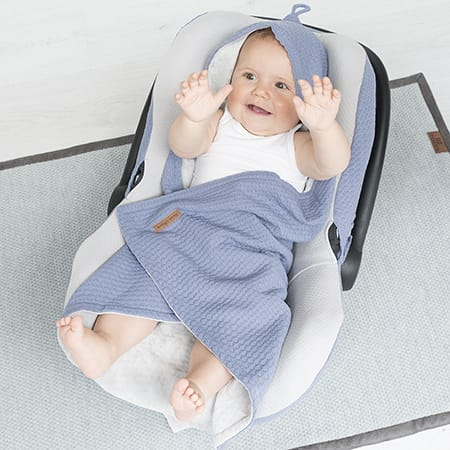 Baby's Only care wrap & towelling bath capes
