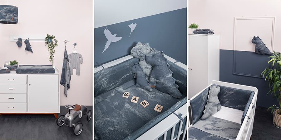 Baby's Only - Marble baby room
