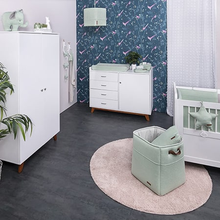 Baby room with Baby's Only products